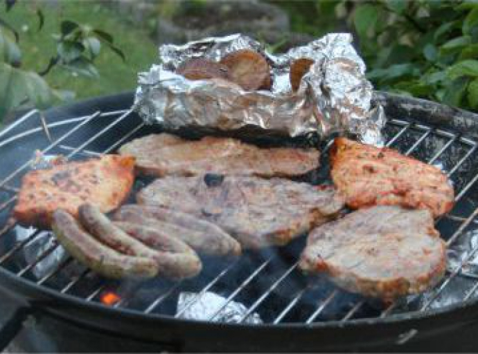 Grillen im NewAsiCenter